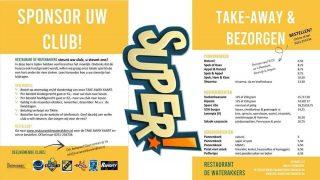 Hebben jullie ook zo'n trek in spareribs? Vanavond lekker bestellen op www.restaurantdewaterakkers.nl en help je club!