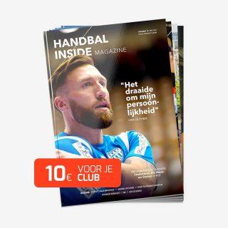 HANDBAL INSIDE CLUBACTIE €24,95incl. btw Voor 24,95 per jaar word je lid van het Handbal Inside Magazine en maken wij10 euroover naar DSS. Veel verenigingen hebben moeilijk door de coronacrisis. De kantineomzet viel stil terwijl de lasten door bleven lopen. Door mee te doen aan de Handbal Inside Clubactie ontvang je vier magazines per jaar én geef je jouw favoriete club DSS een steun in de rug. https://handbaldeals.nl/product/handbal-inside-clubactie/